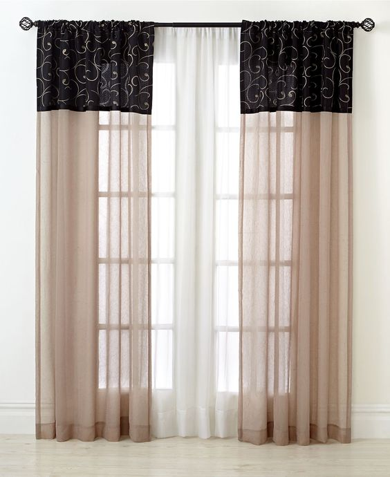 pretty window treatments: