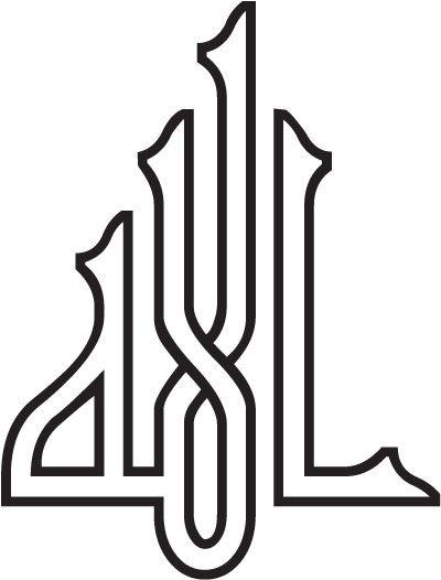 Allah islamic calligraphy khat