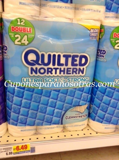 Kroger: Quilted Northern Papel Higiénico a sólo $0.22 el Rollo!