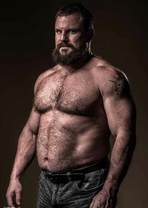Hairy muscular men pics