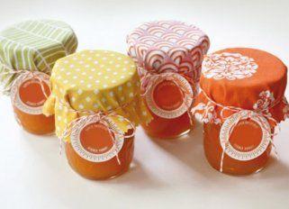 frascos de mermeladas decorados - Buscar con Google                                                                                                                                                     Más