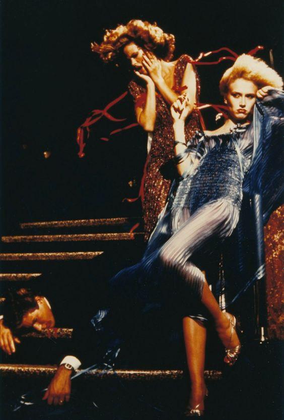 "Helmut Newton para ""The eyes of Laura Mars"" (1978) | Viste la Calle"