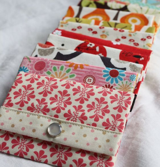 Wallet  PDF SEWING PATTERN - Instant Download - Easy Sewing Pattern - Beginner Friendly