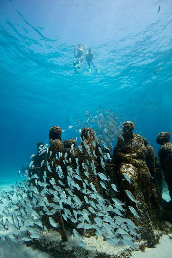Si te gusta el ecoturismo y el arte, el MUSA es un MUST en tu viaje a Cancún.
