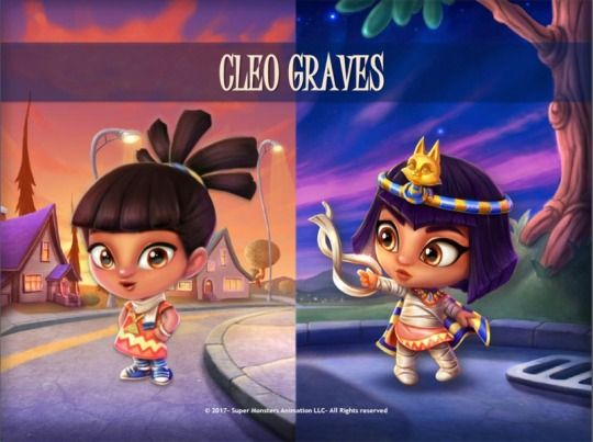 Cleo Graves Super Monsters In 2019 Monster Party