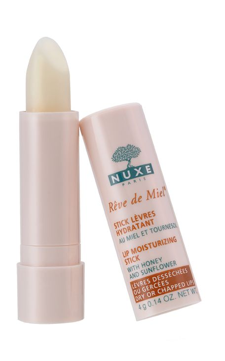 Stick Lèvres Hydratant Rêve de Miel® : lèvres desséchées ou gercées. #nuxe #revedemiel
