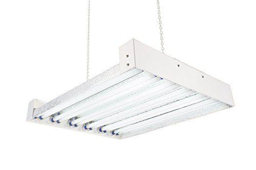 T5 Ho Steel Grow Light 2 Ft 12 Lamps Dl8212t Fluorescent Hydroponic Indoor Fixture Bloom Veg Daisy Chain With Bulb Grow Lights Indoor Grow Lights Hydroponics