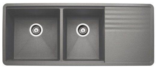 Blanco Blancoprecis Multi Level 1 3 4 Bowl With Drainer 441471 Silgranit Sink Best Kitchen Sinks Granite Sink