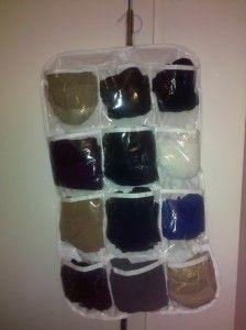 Organize nylons