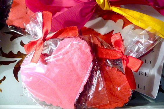 Corazón de oblea con tamarindo