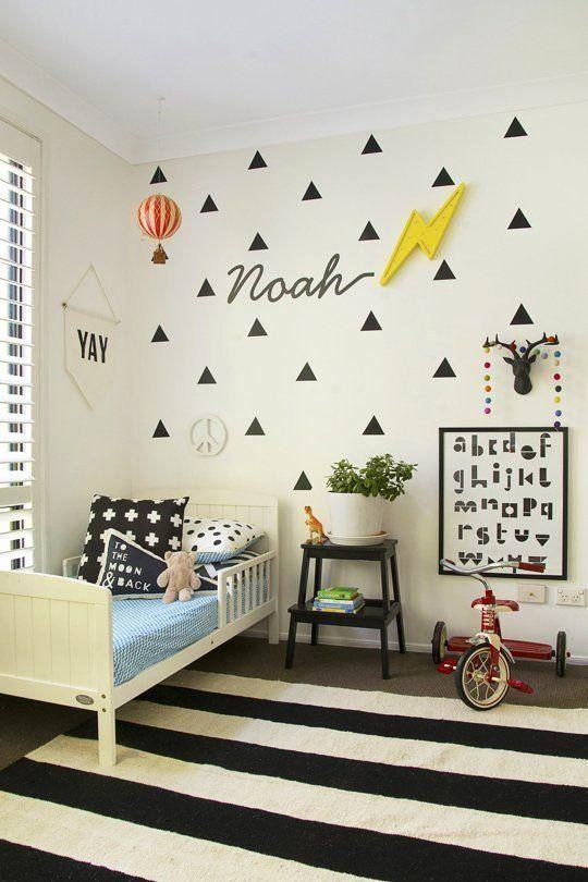 Childrens Bedroom Decor Uk Inspirational Noah S Graphic Modern Abode Boys Rooms Di 2020 Modern
