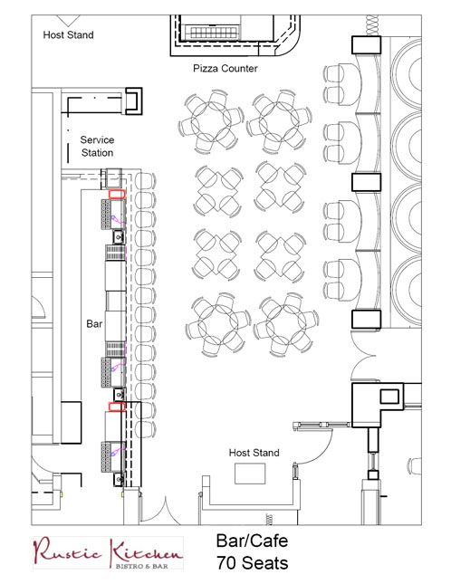 Pinterest the world s catalog of ideas for Coffee shop floor plan with dimensions