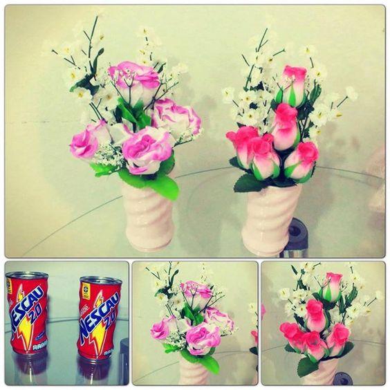Como Fazer Vasos de Flores com Latas (18)