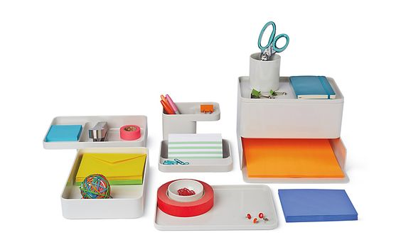 Formwork Box Design Within Reach Desk Organizers Contemporary
