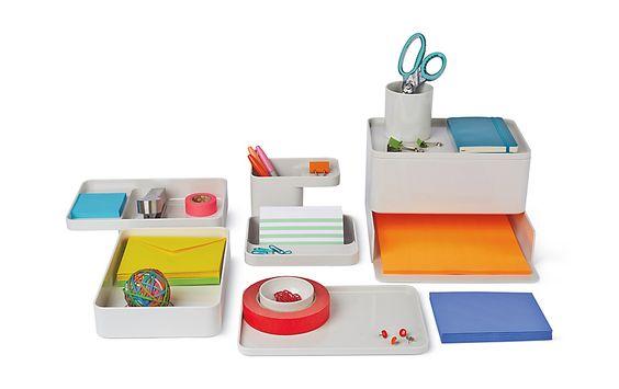 Formwork Box Design Within Reach Desk Organizers Contemporary