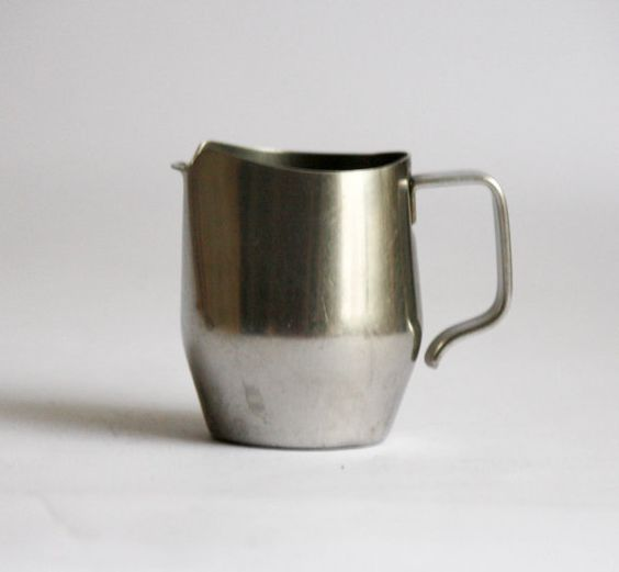 Alfra Alessi Vintage Stainless Steel Creamer - Made in Italy ...