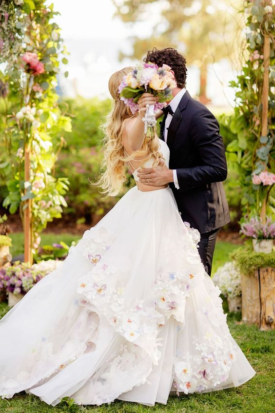Hayley Paige personal wedding dress