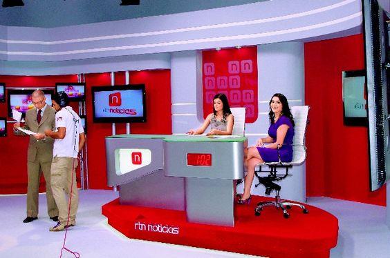 set de television noticiero - Buscar con Google