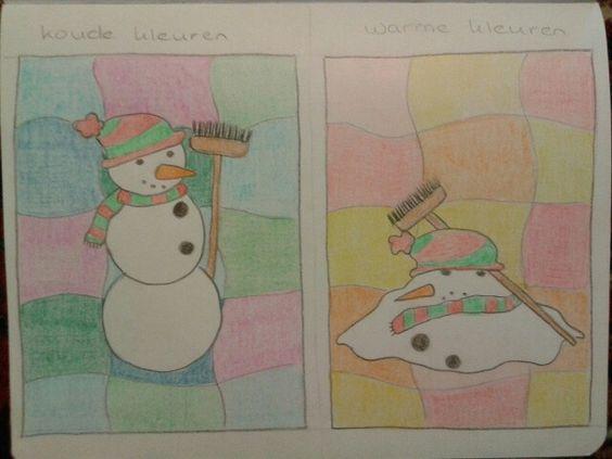 Pinterest de idee ncatalogus voor iedereen - Koude en warme kleuren ...