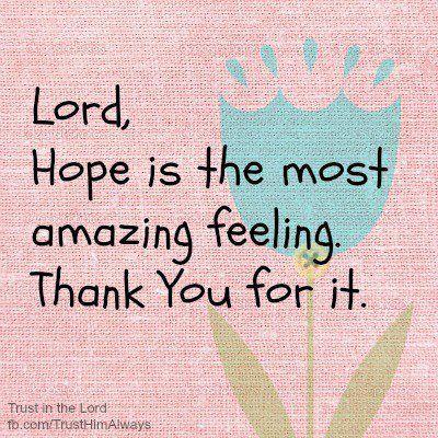 .Hope...