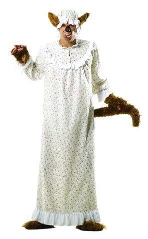 37,90€ + 2,50€ Versand  Foxxeo 10231 | Böse Großmutter Rotkäppchen Kostüm Märchen Böser Wolf Wolfkostüm mit Haube Gr. XL: Amazon.de: Spielzeug