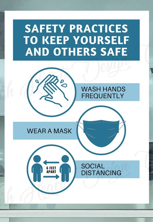 Printable Safety Practices Sign Wash Your Hands Wear A Mask Social Distancing Safety Practices To Follow Office Safety Sign Pdf Jpg Health And Safety Poster Safety Posters Workplace Safety