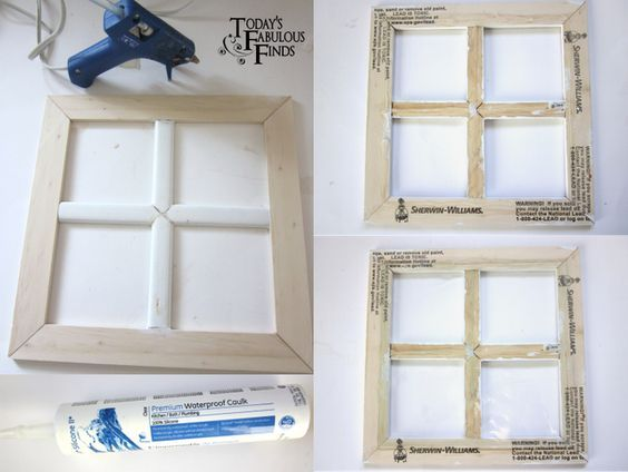 How To Make A Decorative Paned Window