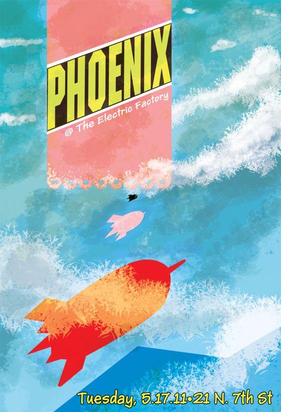 Phoenix Concert Poster