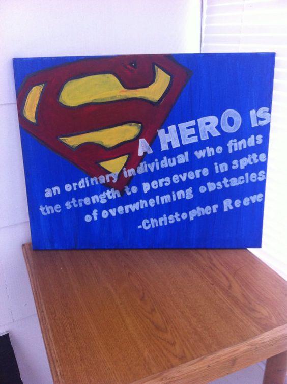 Superman Christopher Reeve Hero Quote