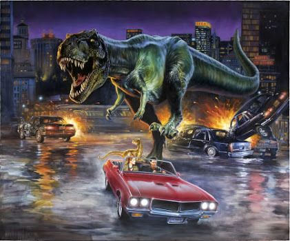 The Lost World Jurassic Park Concept Art 20280 | INFOBIT |The Lost World Jurassic Park Concept Art