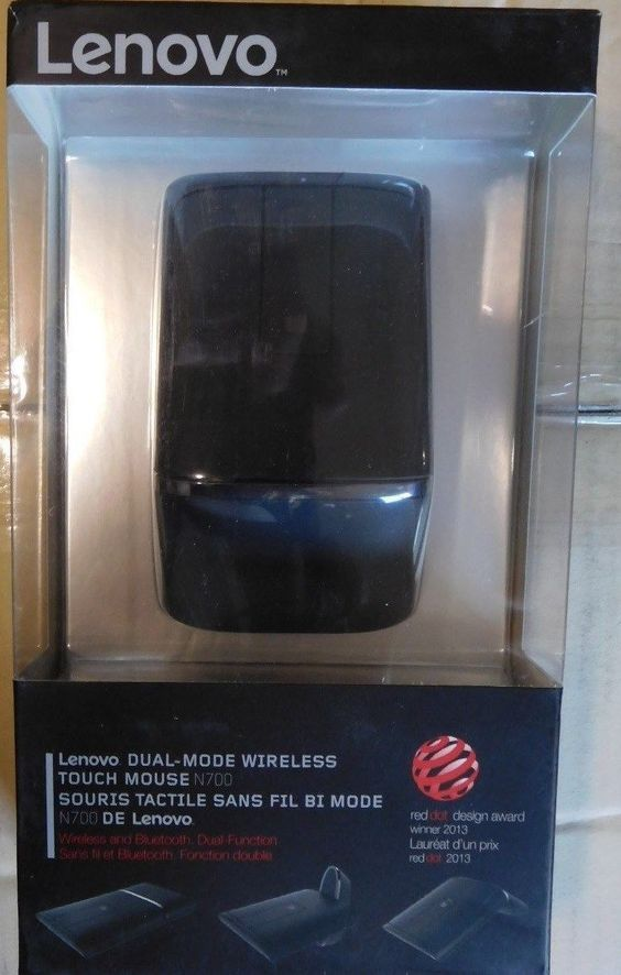Lenovo 2.4GHz Bluetooth Wireless Dual Mode Touch Mouse - Black (N700) https://t.co/SFDHNtzVIM https://t.co/gkeQF0pPO9