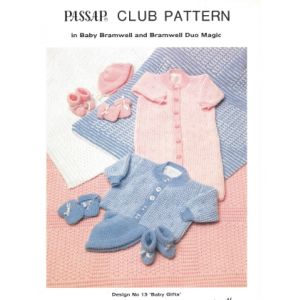 Passap Club - Design No. 13 Baby Gifts Pattern Book - Passap Patterns and Mag...