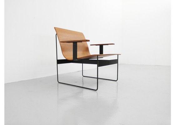 Teak Plywood Lounge Chair by Günter Renkel for REGO 1959