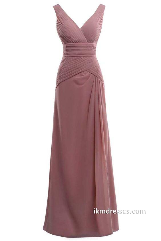 http://www.ikmdresses.com/Floor-length-V-neck-Pleated-Brideamaid-Party-Chiffon-Prom-Dresses-p88471