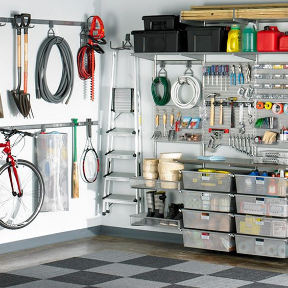 Garage Solutions Garage And Container Store On Pinterest
