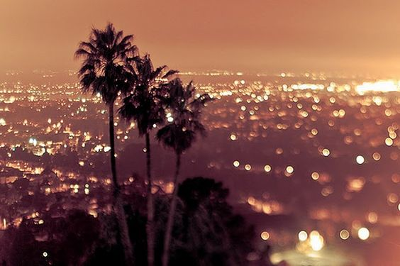 LA at night