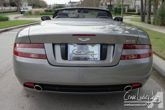 Aston martin DB9 Convertible V12 (Manual) Crave Luxury Auto 281-651-2101 Price…