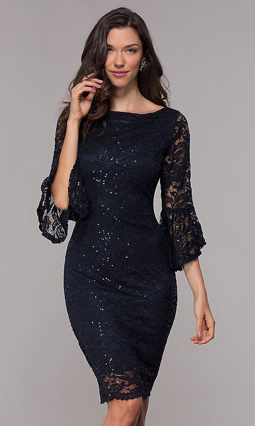Glitter Lace Short Wedding Guest Dress With Sleeves Short Wedding Guest Dresses Dresses To Wear To A Wedding Wedding Guest Dress,Tween Dresses For Weddings