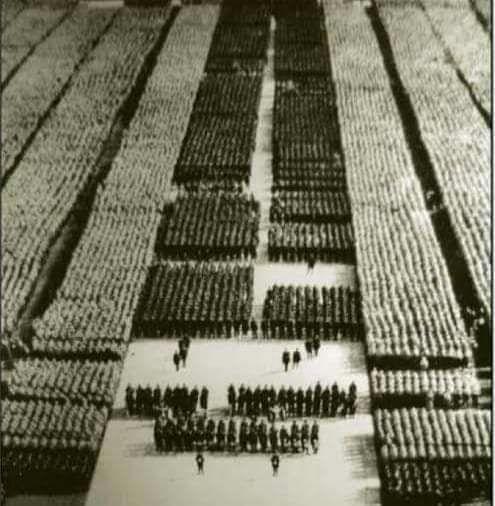 اكبر حشد عسكري في التاريخ