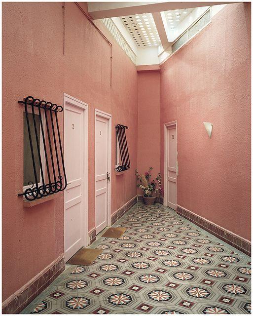 paredes rosas entradas rusticas rajola hidraulica pared escalera fachadas rusticas rejas suelos entre