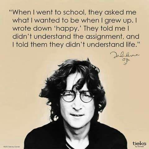 Life... happiness...