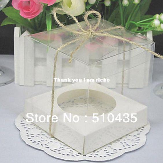 Wholesale Other Festive & Party Supplies - Buy 9*9*9cm Single Cupcake Box .pvc Cake Box .pvc Box, $0.25 | DHgate