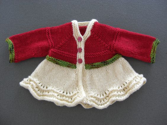 Baby sweater - to make for Nikki: