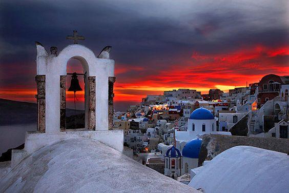 Santorini, Aegean