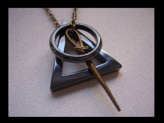 Cloaks circles and deathly hallows on pinterest for The deathly hallows wand