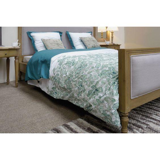taie d 39 oreiller 100 coton 60 x 60 cm simple fils et d coration. Black Bedroom Furniture Sets. Home Design Ideas