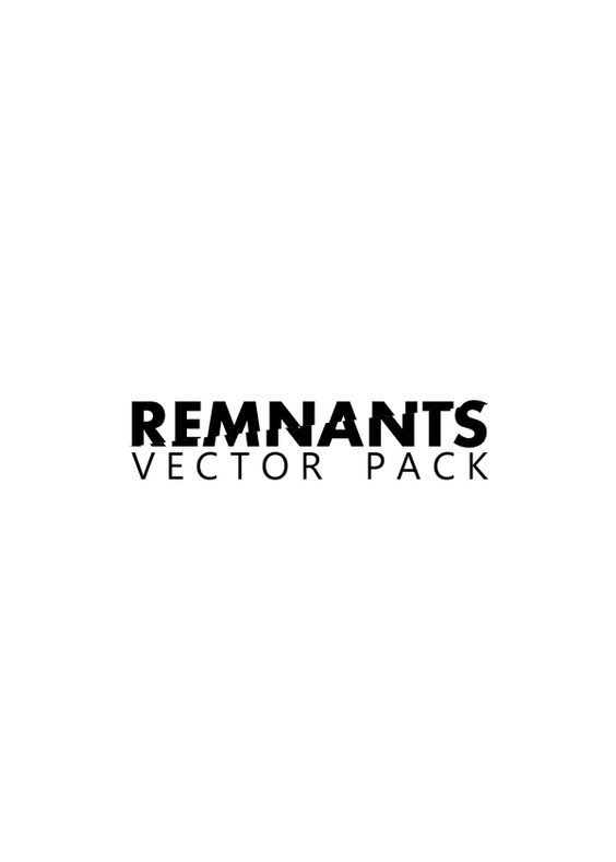 Remnants - Vector Pack (FREE) - Gaks Designs