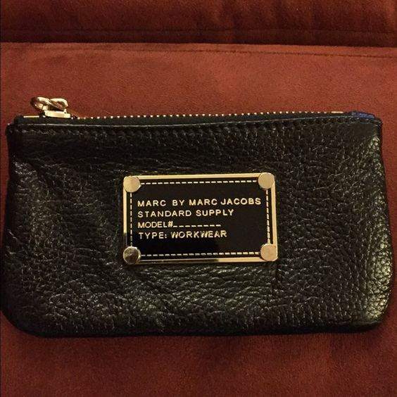 Marc Jacobs key/coin purse Used for change in my purse. See pics for condition. Gifted to me last Christmas. Excellent condition. Marc by Marc Jacobs Bags Wallets