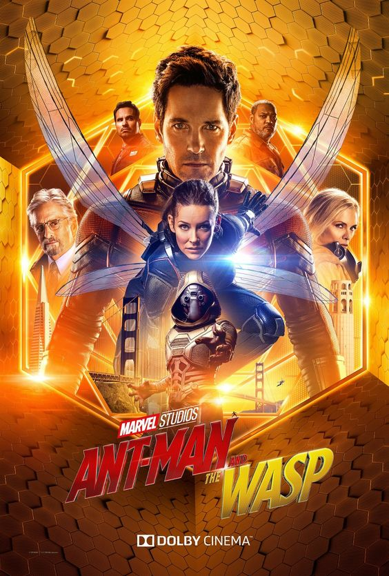 "Here's a look at the exclusive Dolby poster for Marvel Studios' ""Ant-Man and The Wasp""! See the film in theaters July 6. #AntManAndTheWasp"