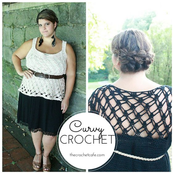 Crochet Patterns Plus Size : Curvy Crochet Patterns for Plus-Size Women. I love these ...